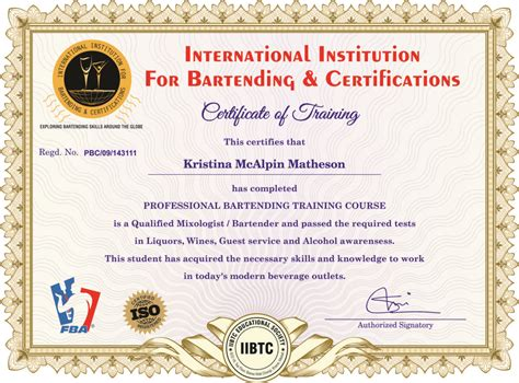 Top Shelf Bartending School by About Top Shelf Events