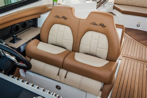 boat seat upholstery cost sea ray 350 slx 2014 2014 reviews performance compare