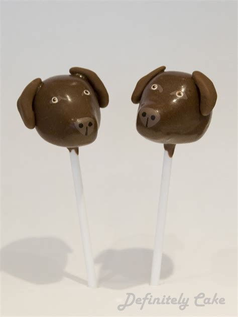 puppy pops 12 best images about cake pops on valentines chocolate labradors and