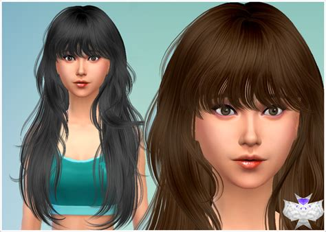 the sims 2 downloads fringe hairstyles my sims 4 blog david sims female hair conversions