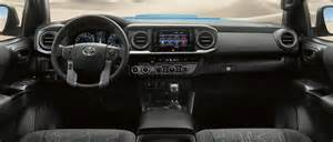 Toyota Tacoma Interior Check Out The Rugged Luxury Of The New 2017 Toyota Tacoma