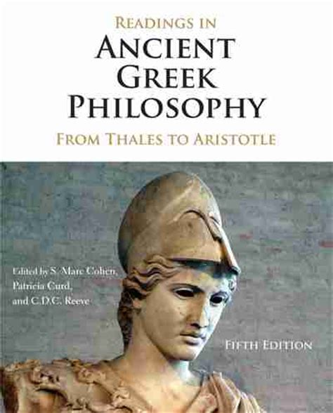 Readings In Ancient Philosophy From Thales To Aristotle 4th Ed readings in ancient philosophy newsouth books