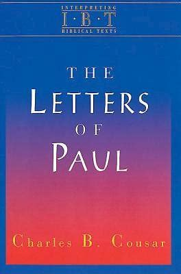 the letters of paul the letters of paul cokesbury