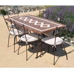 table jardin ceramique