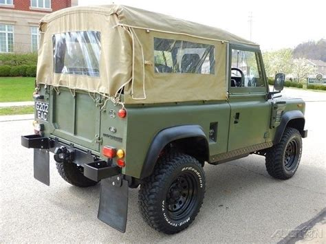 1990 land rover defender 90 1990 land rover defender 90 convertible restored