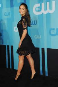 lindsey morgan the cw network s upfront in new york city