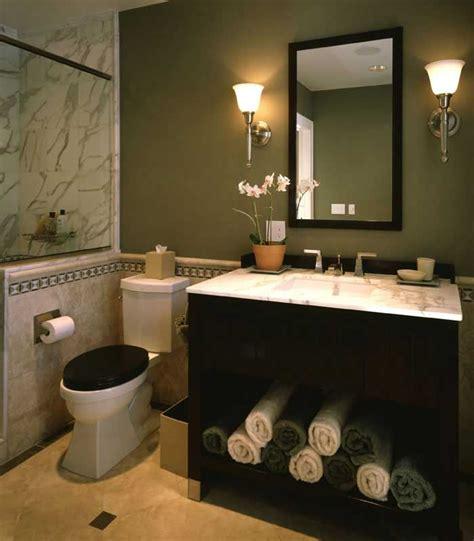 green and black bathroom ideas elegant powder room with black vanity marble tile sage