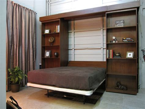 library bed murphy bed