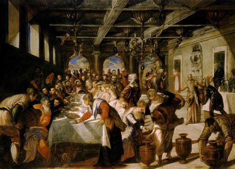 Wedding Feast At Cana Tintoretto by Idle Speculations A Wedding In Cana