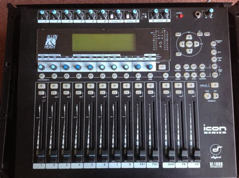 Mixer Allen Heath Second verkocht sold allen heath icon dl1000 digital mixer