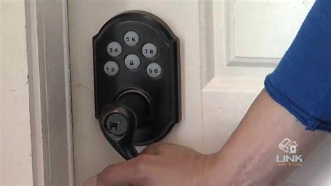 how to install kwikset door lock link interactive