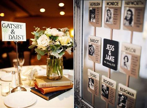 get creative with your table numbers a definite