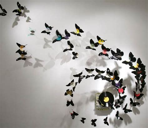 Hiasan Craft Bird recycling cans for images of birds and butterflies