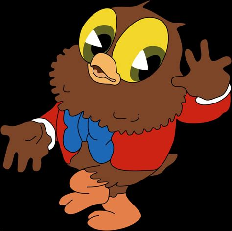 film cartoon owl i love to singa