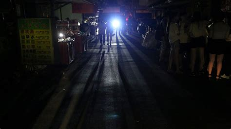 7 Ways To During A Power Outage by Power Outage Leaves Taiwan In The The