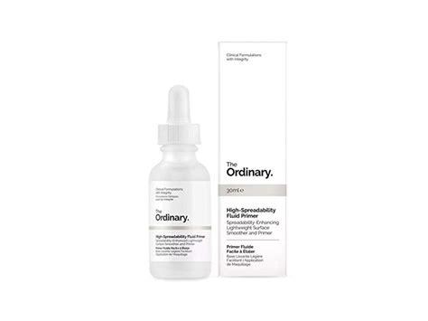 The Ordinary High Spreadibilty Fluid Primer 30 Ml the ordinary high spreadability fluid primer 30ml ingredients and reviews