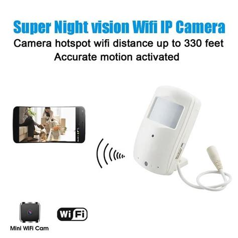 hd wifi home security motion activated push