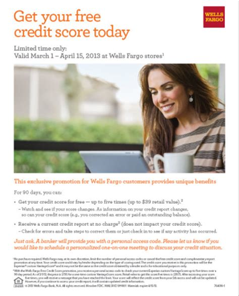 Wells Fargo Sweepstakes - wells fargo repeats popular free credit score promotion offers 10 000 grand prize