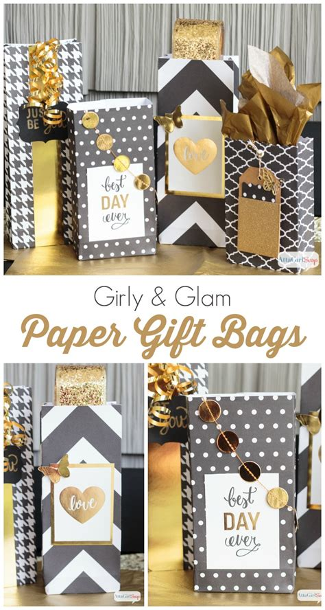 Gift Bags From Scrapbook Paper - it one more time 10