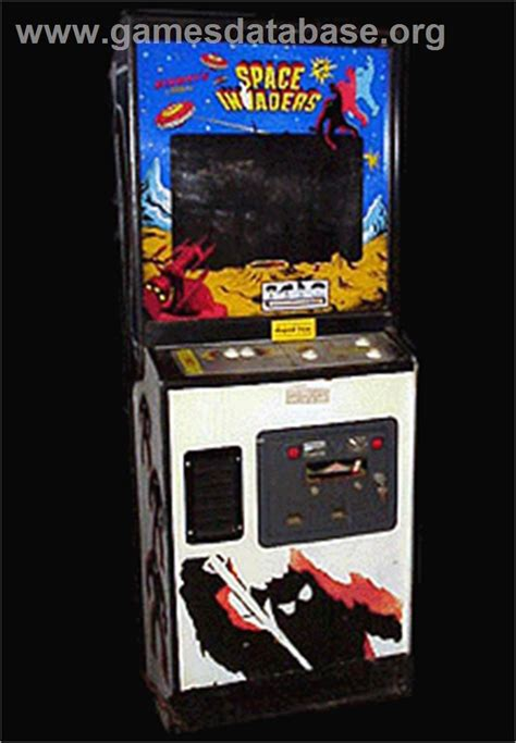 Space Invaders Cabinet by Space Invaders Arcade Database