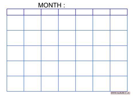 new year photo grid blank calendar grid template calendar template 2016
