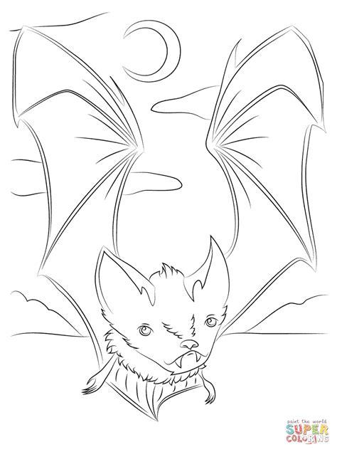 coloring pages of cute bats cute vire bat coloring page free printable coloring pages