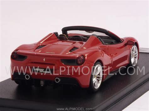 looksmart ls451b 488 spyder frankfurt motorshow 2015 new rosso corsa metallic 1 43