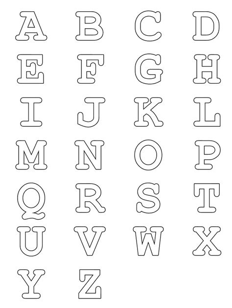 Alphabet People Coloring Pages Coloring Pages With Letters