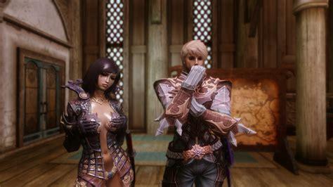 tera skyrim hair mod tera armors collection for skyrim male and unp female