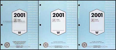 2001 buick century repair manual 2001 buick regal century repair shop manual original 3