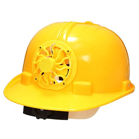 0 3w pe solar powered safety security helmet