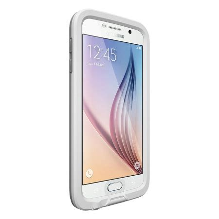 Lifeproof Samsung S6 White lifeproof fre samsung galaxy s6 white mobilezap