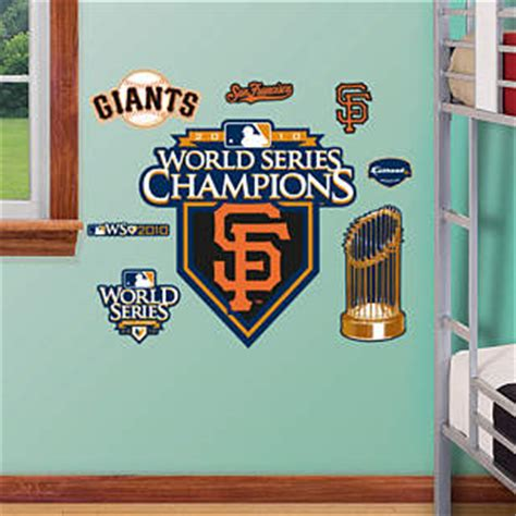 Junior Giants Sweepstakes - shop san francisco giants wall decals graphics fathead mlb