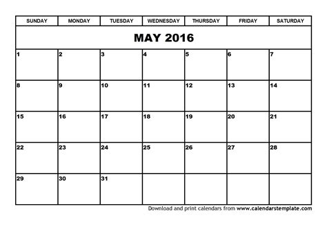 calendar layout for 2016 search results for blank monday to friday calendar