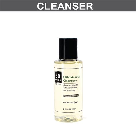 Aha Cleanser ultimate aha cleanser with 2 glycolic acid phbeautiful