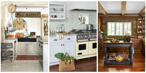 country kitchen styles ideas 18 farmhouse style kitchens rustic decor ideas for kitchens