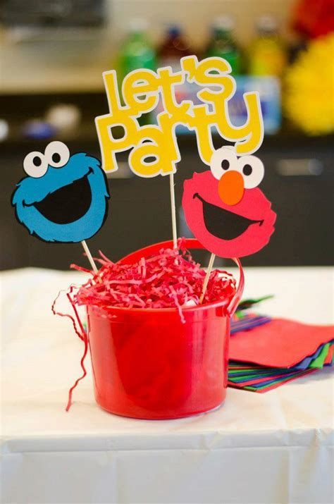 sesame street 1st birthday party forever moments events