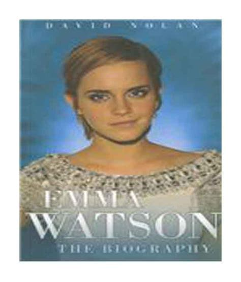 emma watson biography in inglese emma watson the biography buy emma watson the