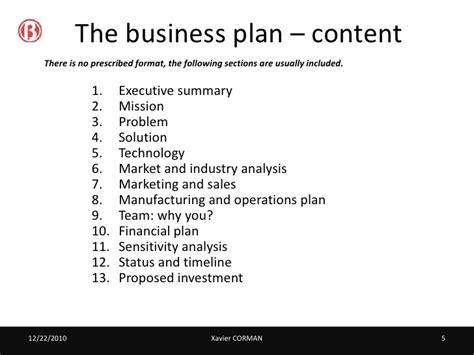Business plan   best practices
