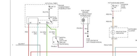 solved wiring diagram for 1994 ford ranger fuelpump from