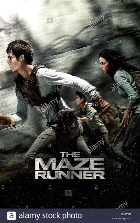 maze runner film company dylan o brien kaya scodelario poster the maze runner