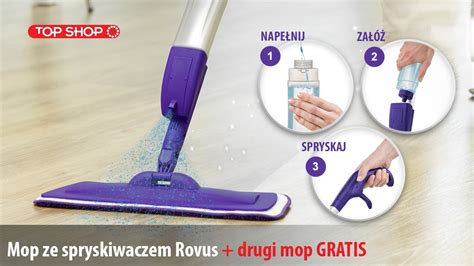 Paling Laris Spray Mop Z mop ze spryskiwaczem rovus spray mop top shop