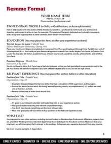 Most Recent Resume Format by 100 Most Recent Resume Format Most Professional Resumes Format Experienced Professional