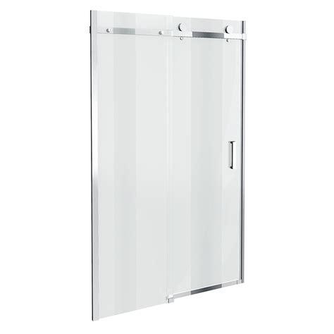 1000 shower door 1000 sliding shower door aqualine 4mm 1000 sliding