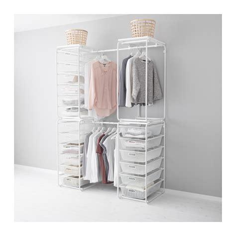 Ikea Rigga Rak Pakaian Serbaguna Yang Bisa Disesuaikan Tinggi 175cm algot rngka dg batang krjg jaring rak ats ikea