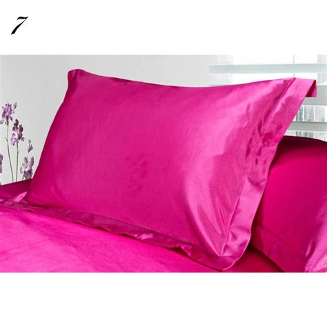 Single Pillow by Vogue Silk Satin Pillowcase Single Pillow Cover