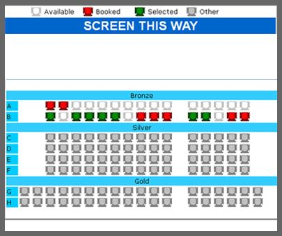 design online ticketing system online movie ticket booking system