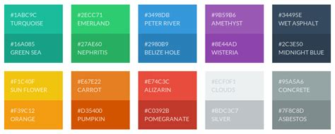 ui colors flat ui color palette for inkscape gimp exle