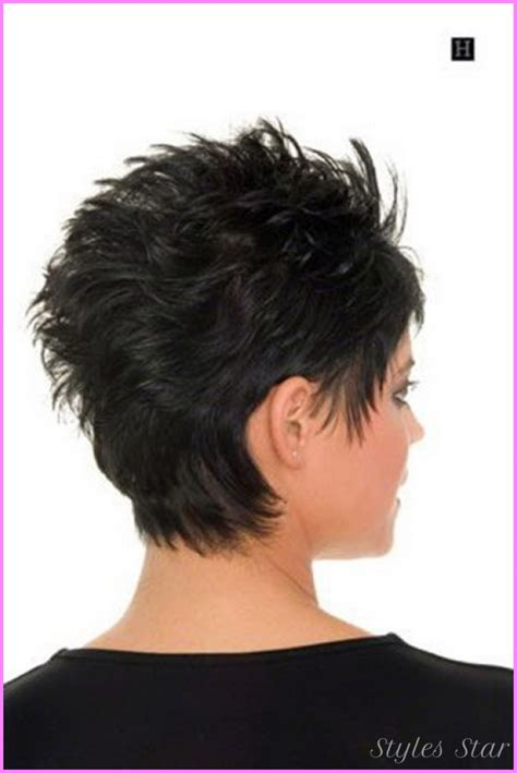 emo hairstyles front and back pictures of front and back of hair cutrs women short