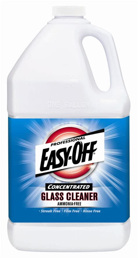 amazon com easy off concentrated glass cleaner